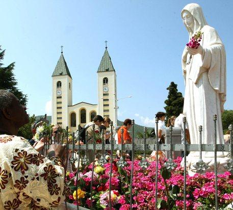La chiesa di Medjugorje © ANSA