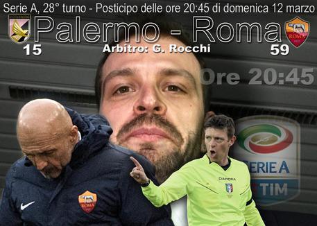 Palermo-Roma 0-3: Baccaglini non basta, tris giallorosso