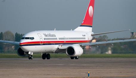 Meridiana aereo 737 - 700 © ANSA