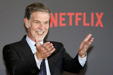Reed Hastings, Ceo di Netflix © ANSA
