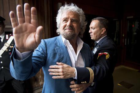Beppe Grillo in una foto d'archivio © ANSA