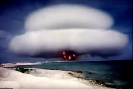 I filmati sui test nucleari Usa finiscono su YouTube © ANSA