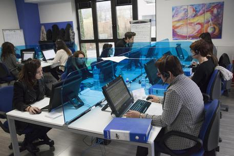 Foto d'archivio di un call center © ANSA