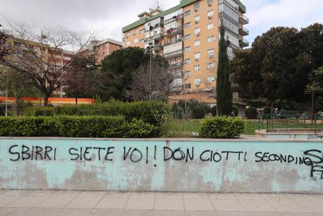 Palermo, nuove scritte contro Don Ciotti$