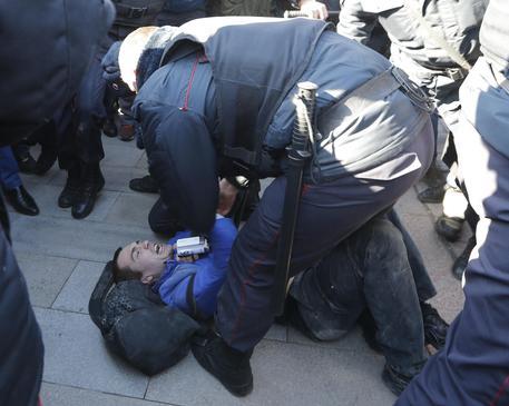Russia, Salvini: Polizia ha fatto bene a intervenire, montatura media