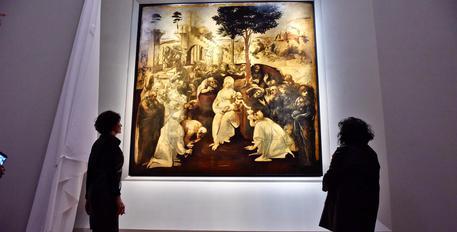 Firenze, restauro record: torna agli Uffizi l'Adorazione dei Magi di Leonardo