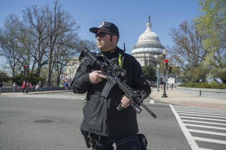 Spari intorno Capitol Hill, un fermo. Non è terrorismo