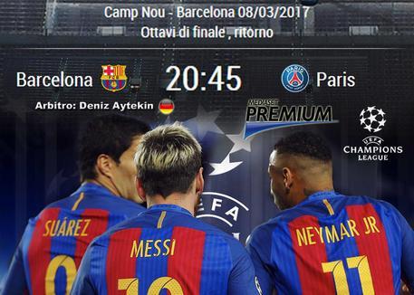 Video Gol Barcellona-Psg 6-1: Highlights e Sintesi (Champions League 2016-17)