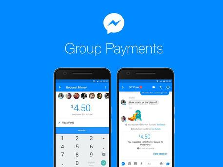Messenger, arrivano i pagamenti di gruppo