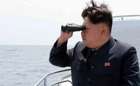 Il leader della Corea del Nord, Kim Jong-un © EPA