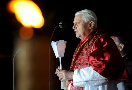 Il Papa emerito Benedetto XVI © EPA
