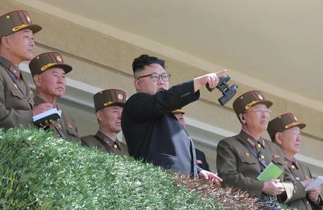 Il leader nordcoreano Kim Jong Un © AP