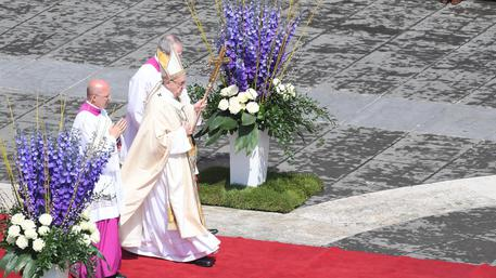 Pope Francis' Easter mass © ANSA