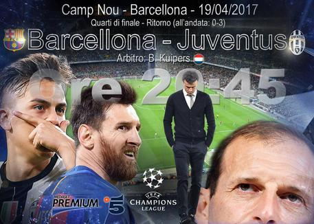 Champions League, La Juventus è in semifinale!