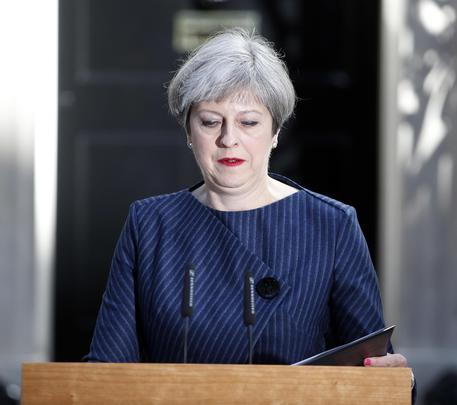 Gb: Theresa May annuncia il voto anticipato l'8 giugno © AP