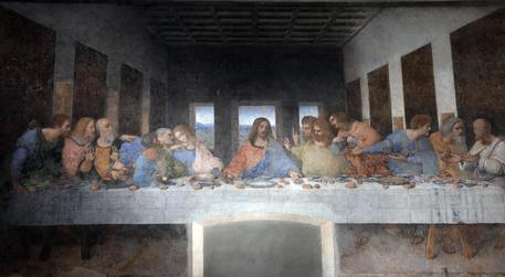Milano, il Cenacolo con l'Ultima cena di Leonardo da Vinci © ANSA