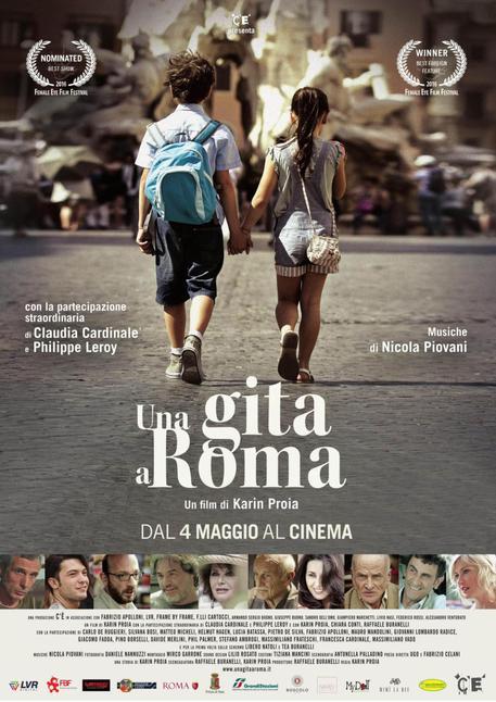 FILM 'Una gita a roma' © ANSA