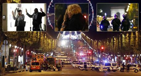 Attentato sugli champs-elysees © ANSA