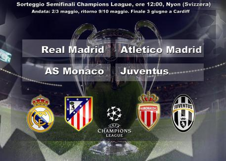 Champions, le semifinali © ANSA