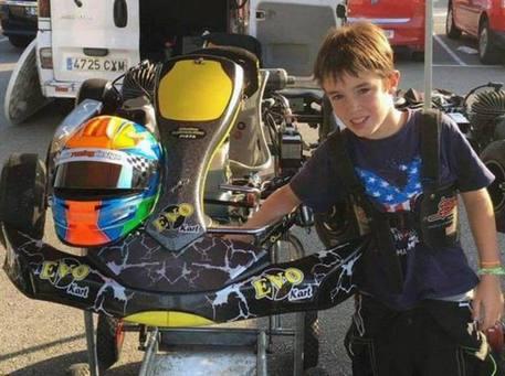 Minipilota 10 anni muore su circuito kart Fernando Alonso