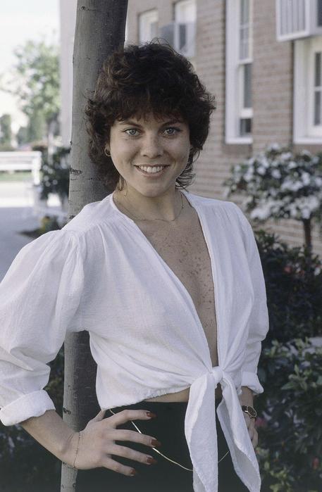 Erin Moran in una foto del 1982, ai tempi di Happy Days © AP