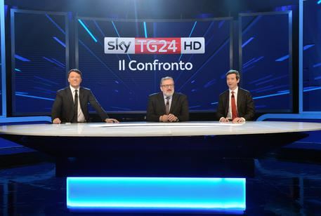 >>>ANSA/Confronto Tv per i Candidati Dem, Renzi vuole la premiership © ANSA