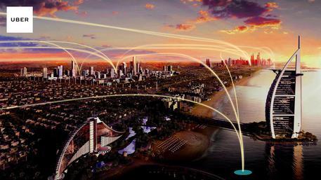 Uber pensa al futuro, taxi volanti tra 5-10 anni
