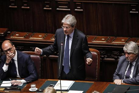 Paolo Gentiloni in Aula alla Camera © ANSA