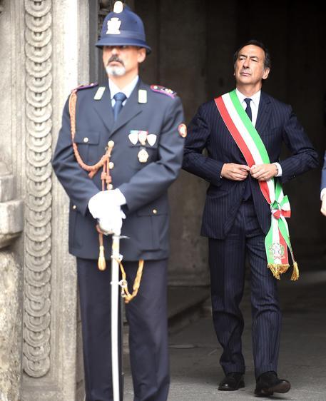 Sindaco di Milano alla commemorazione per Ramelli