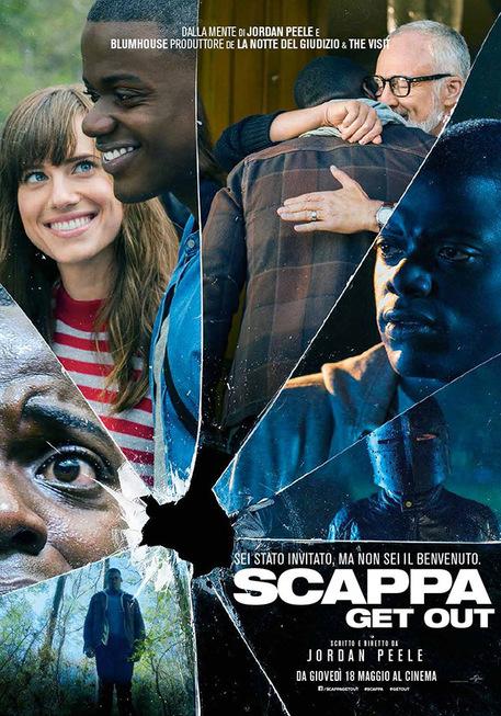 La locandina del film Scappa - Get Out © ANSA