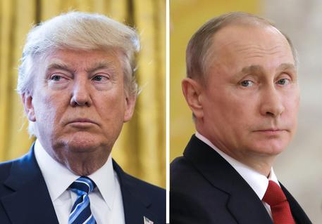 Donald Trump e Vladimir Putin © EPA