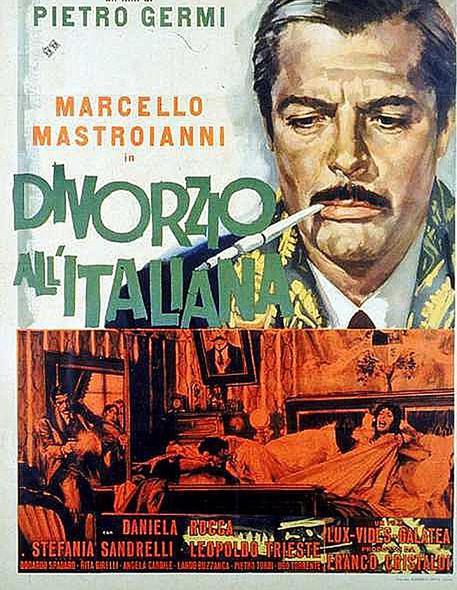La locandina del film di Petro Germi 'Divorzio all'italiana' © ANSA