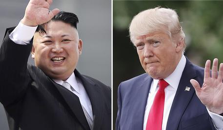 Kim Jong Un,Donald Trump © AP
