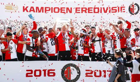 Feyenoord campione d'Olanda dopo 18 anni! Si tratta del 15° titolo
