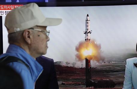 Lancio di un missile balistico nordcoreano