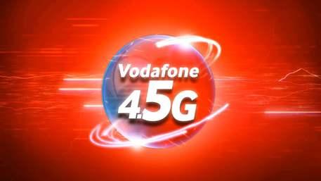 Vodafone sempre più 'veloce': al via la rete 4.5G