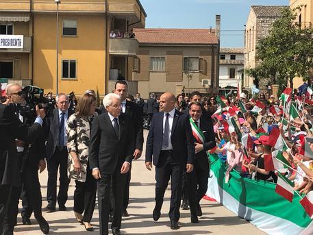 Il presidente Mattarella prima a Foligno poi in visita a Spello