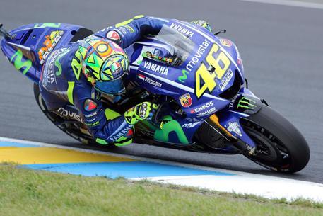 Incidente in motocross per V.Rossi