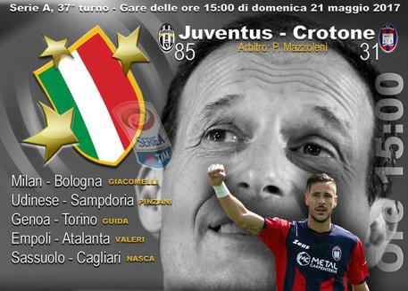 Serie A, Juve-Crotone: bianconeri da scudetto a 1,16