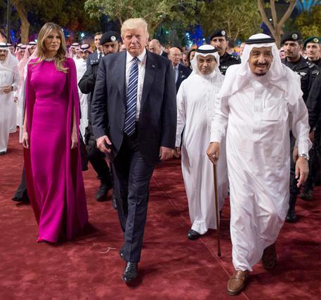 US President Donald J. Trump visits Saudi Arabia © EPA