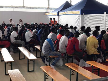 Migranti sbarcati in Italia © ANSA