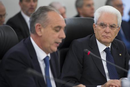 Mattarella, Falcone sempre attento alla solidita' delle prove © ANSA