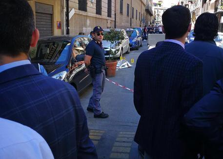 Il luogo dove è stato ucciso il boss Giuseppe Dainotti © ANSA