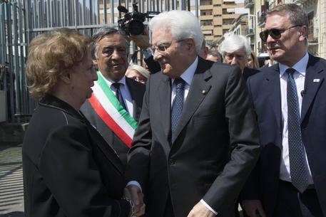Mattarella a Palermo: