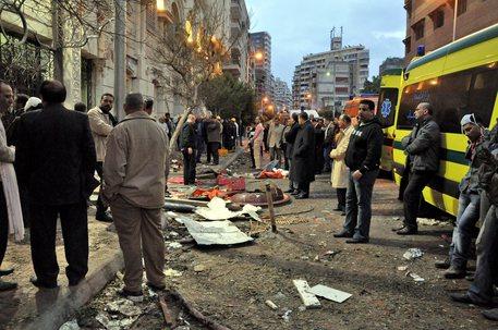 Un recente attacco contro i cristiani copti (archivio) © EPA