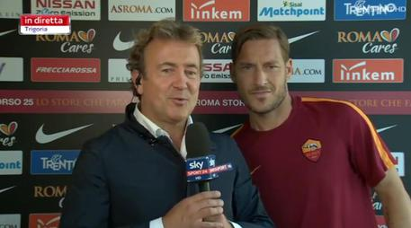 VIDEO L'ultima commossa volta di Francesco Totti: Ora ho paura