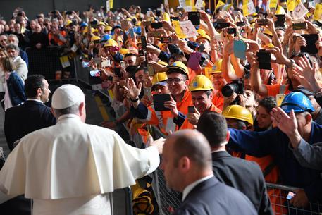Pope Francis visits Genoa © ANSA