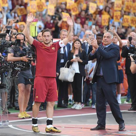 Totti: Non è detto che abbia finito di giocare definitivamente