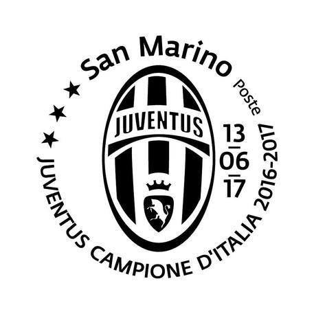 Francobollo Smarino Per Scudetto Juve Calcio Ansait