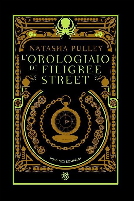 La copertina del libro di Natasha Pulley 'L'orologiaio di Filgree Street' © ANSA
